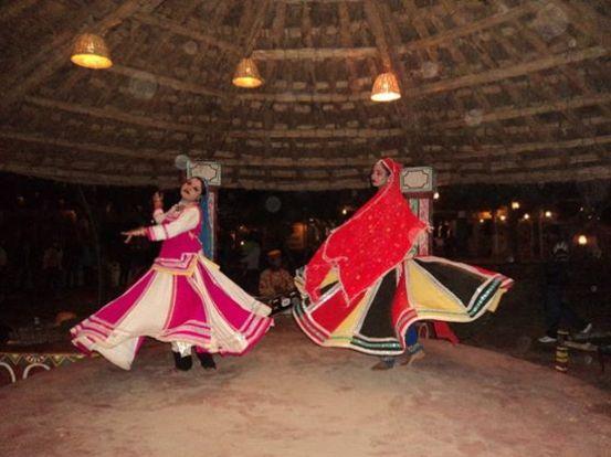 Enjoying Tradional Folk Dance